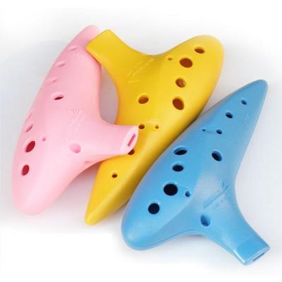 삼익오카리나 PVC 삼익악기 오카리나 AC 알토C Alto C 악기 교재용 플라스틱