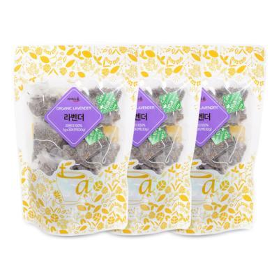 차예마을 허브차 유기농 라벤더 30티백 x 3팩