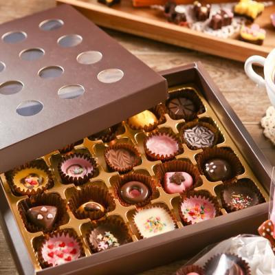 초콜릿 만들기 세트 (20구) - 브라운 원형