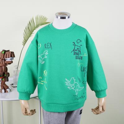 [다이노솔즈] 다이노MIX 손글씨 낙서 드로잉 유아동 맨투맨 GR