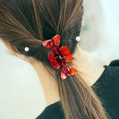 우먼 데일리 Butterfly hair 집게 핀 랜덤 CH1423083