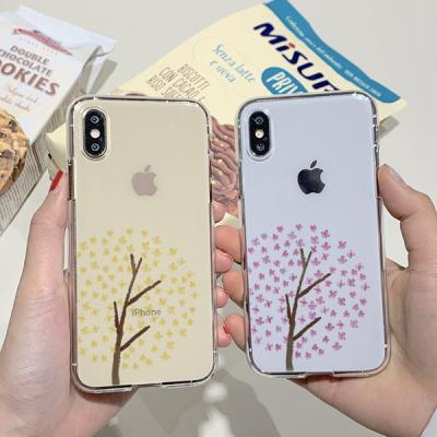 써니 봄꽃나무 소프트젤리케이스
