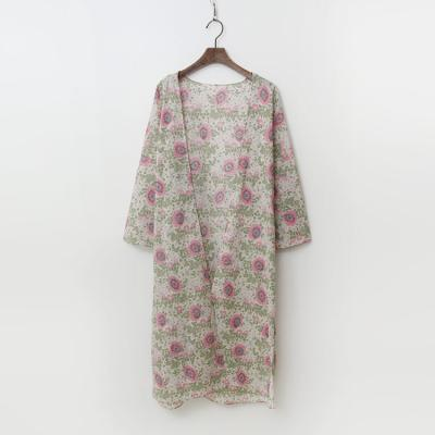 Vintage Flower Robe Cardigan