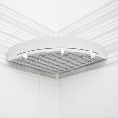 벽부착 다용도 코너 선반 욕실 주방 소품 정리 선반 W45EC6F