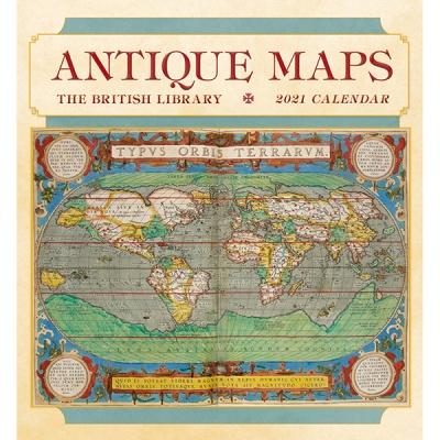 2021년 캘린더 Antique Maps