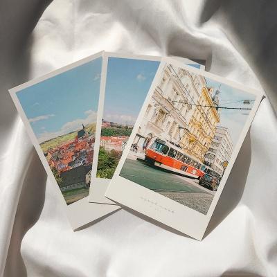 메리필름 체코 프라하 폴라로이드 여행 엽서 set(3장)