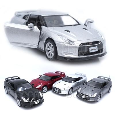 닛산 GT-R R35 미니카 다이캐스트 모형 풀백