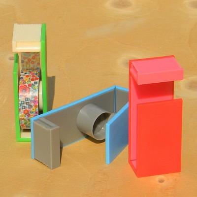 폭15/18mm용-일본 mt 디자인 마스킹테이프 magnetic Two Way Cutter