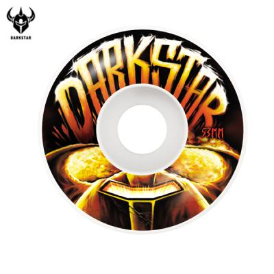 [DARKSTAR] BLAST WHITE MASTER URETHANE WHEELS 53