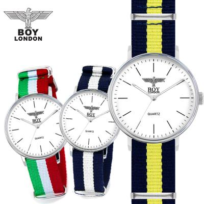[무료배송][당일발송] 보이런던시계 BLD3105-SV 남녀공용 나토밴드시계