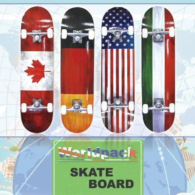 월드팩 스케이트보드 단풍나무 ABEC-7 31인치 고품질