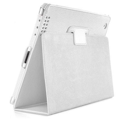 갤럭시 탭S 8.4 심플 가죽 레더 케이스 화이트색상