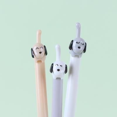 강아지 동물 캐릭터 볼펜 귀여운 특이한 신기한 펜
