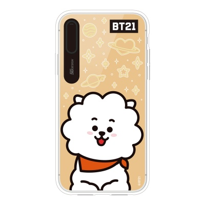 BT21 iPhoneX RJ 미러 라이팅 케이스 (Hybrid)