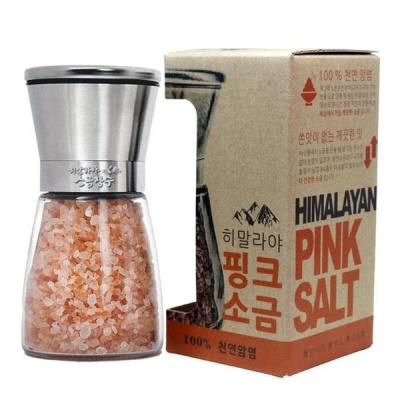 히말라야 핑크소금+스테인레스 그라인더(180g)