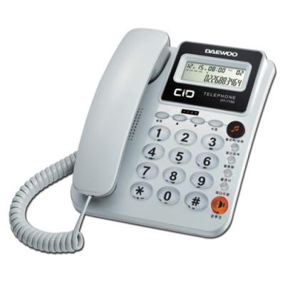 전화기 DT-7780 화이트 (개)302939