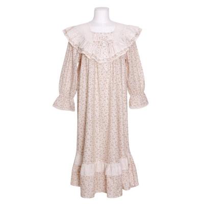 [쿠비카]레이스 스칼럽 러블리 원피스 여성잠옷 W807