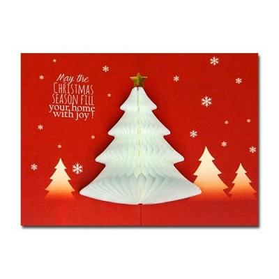 허니콤 크리스마스 흰색트리