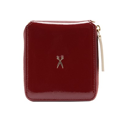 Easypass OZ Wallet Bolt Patent Red