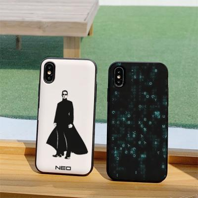 아이폰7플러스 MATRIX 카드케이스