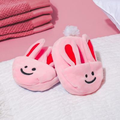 [베이컨] 토끼 슬리퍼 토이 세트