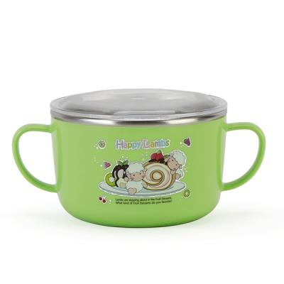 해피램 유아 스텐 라면기(그린)