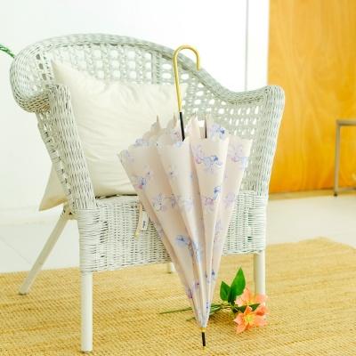 wpc우산 크리미 플라워 장우산 54098-00