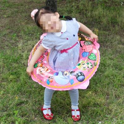 60cm 원형튜브 3-5세 어린이용 예쁜튜브 캐릭터