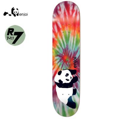 [enjoi] ORIGINAL PANDA TIE DYE R7 DECK 8.0