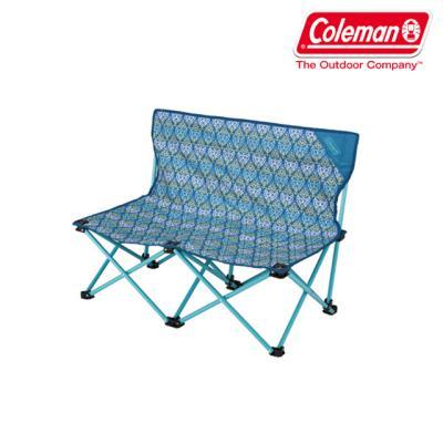콜맨(Coleman) 정품 핀 체어 더블 (폴리지/블루)[2000022002]