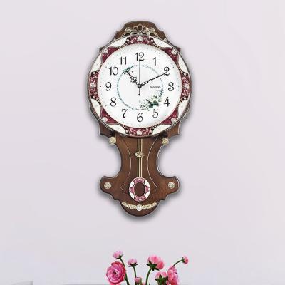 카파 무소음 P56 브라운 대형 인테리어추벽시계