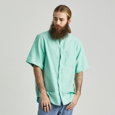 CB 옥스포드 반팔 셔츠 (민트)
