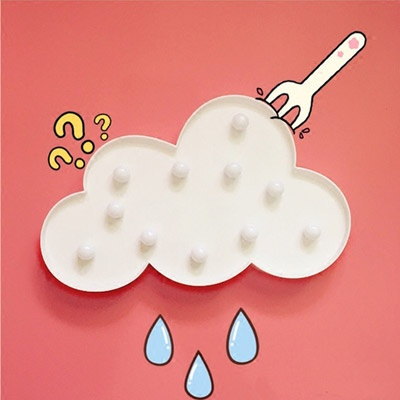 [무료배송]이비자 구름 램프 마퀴라이트조명 LED 조명