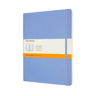 몰스킨 클래식노트-룰드/하이드레인저 블루-소프트 XL