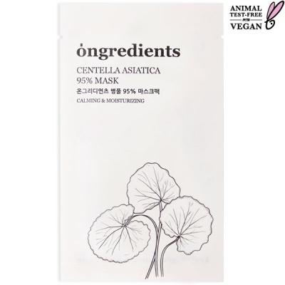 온그리디언츠 병풀 95% 마스크팩 단품구성(1ea)