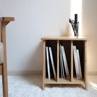 벤트리 원목 책꽂이 테이블