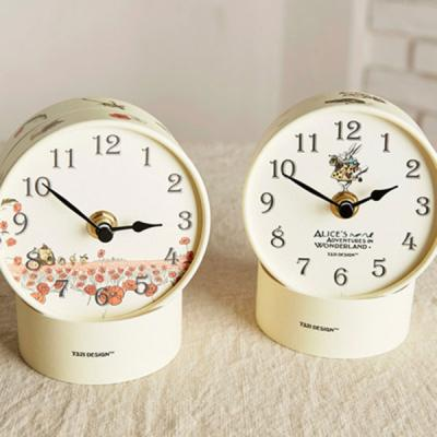 [하이모리] 7321디자인 DIY 페이퍼튜브 탁상시계 [시계/탁상시계/인테리어소품/종이시계/시계선물]