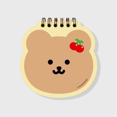 Cherry bear(스프링노트)(S)