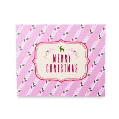 빈티지 루돌프 메리 크리스마스 카드