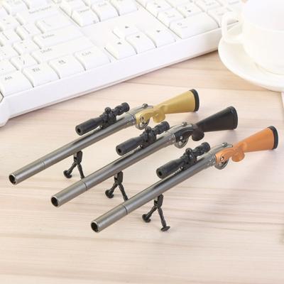 스나이퍼 저격총 밀리터리 총 모양 검은펜(랜덤발송)