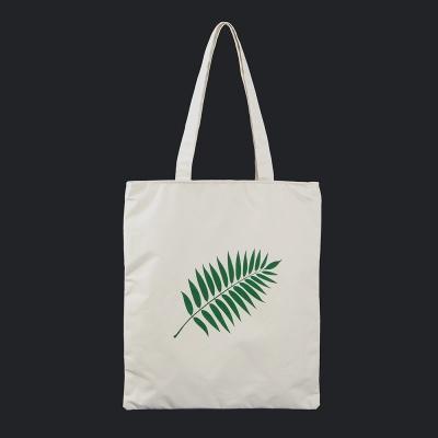 나뭇잎 에코백(화이트)