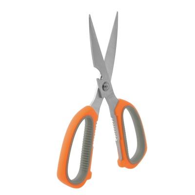 컬러 스텐 양손 주방가위(오렌지)