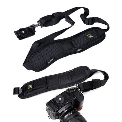 어댑터 이중 안전 고리 카메라 넥 숄더 릴리스 스트랩