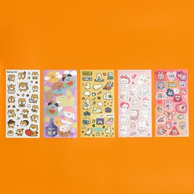 인기 이모티콘 x 핫트랙스 에디션 스티커팩(5종)