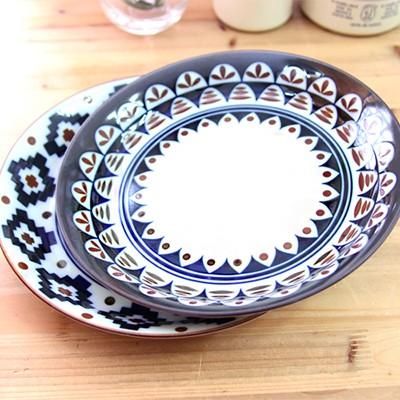 Poland 패턴 파스타 접시 2p set