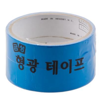 형광 테이프 25㎜ x 2m 파랑 1팩2入 146356