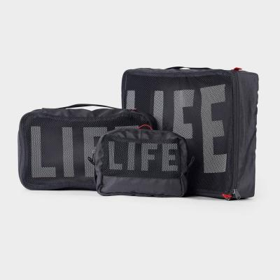 LIFExR PACKABLE POUCH 506 SET_ARMY, BLACK