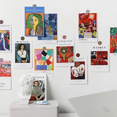 러프 명화 포스터카드 15종세트 A앙리마티스