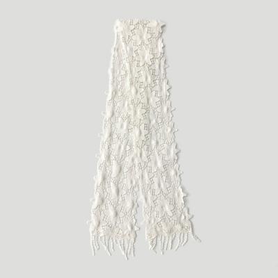 Star Lace Tie Scarf