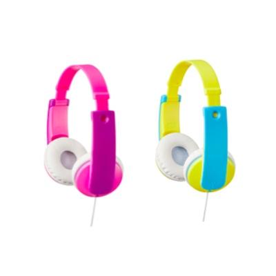 JVC 어린이 헤드폰 HA-KD7 (청력보호 볼륨제한 / 아이 표준사이즈)